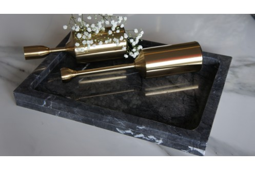 Rectangular Marble Tray GC Large