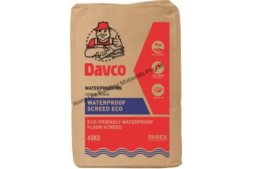 Davco Waterproof Screed Eco
